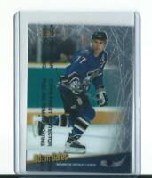 rare ADAM OATES washington capitals FINEST TOUCH CARD with protective film