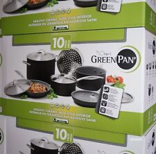 The Original Green Pan Healthy Ceramic Non-Stick Cookware Set 10 PCs Org: $300