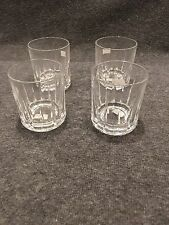 Glass Tumblers 8 oz.  Made in Portugal Set of 4