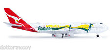 HERPA 520959 AEREO di linea BOEING 747-400 compagnia QANTAS scala 1:500