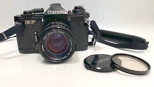Canon EF 35mm  SLR  Camera w/ FD 50mm F1.4 S.S.C. lens