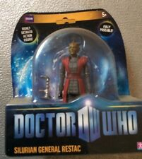 "DOCTOR WHO - SILURIAN GENERAL RESTAC ""HUNGRY EARTH""-5"" ACTION FIGURE-CHARACTER"