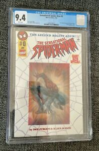 Sensational Spider-Man #0 - CGC 9.4, NM, Never Read, White Pages