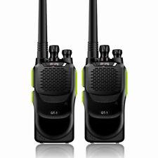 2x Baofeng GT-1 UHF 400-470 1500mAh FM Ham Radio Ricetrasmittente Radio Verde