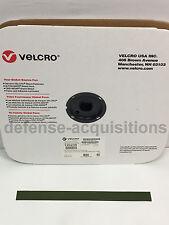 1 INCH VELCRO® Brand HOOK Fastener- Sew On Mil-Spec Military Tape CAMO GREEN