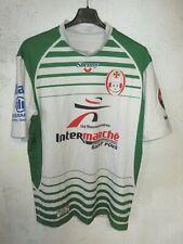Maillot rugby XV DU HAUT LANGUEDOC porté n°17 moulant shirt Shemsy 3XL XXXL