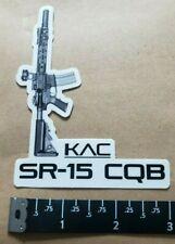 Knight's Knights Armament SR-15 CQB Vinyl Sticker Decal OEM Original