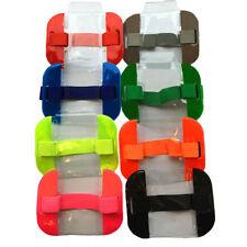 Sia Security ID Armband Badge Holder Doorman Bouncer Orange Yellow Black Blue Green