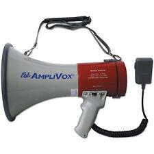 AmpliVox MityMeg Piezo Dynamic Megaphone 25W w/Coiled Microphone S602MR