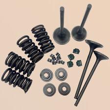 Head Intake & Exhaust Valves Seals Springs Kit For Honda TRX400EX TRX 400EX 2x4