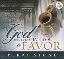 "PERRY STONE-""God Wants To Give You A Favor""-2 CD's"