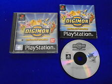 ps1 Digimon World Digi Monsters Rare Game Boxed COMPLETE PAL ps2 ps3