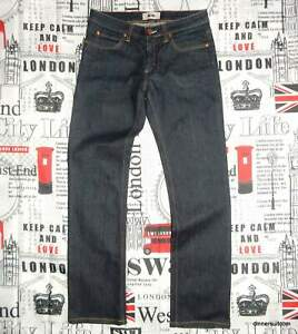 mens 29-30W 31L Acne Studios 'Hep Raw' Slim Fit Blue Stretch Denim Jeans 30L0044