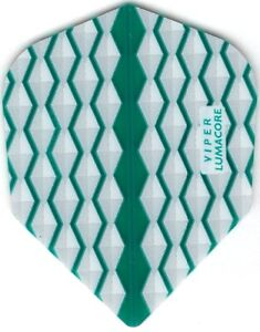 TEAL WAVES VIPER Dart Flights: 3 per set