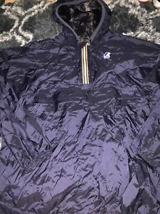 K-Way festival Jacket Waterproof 1/4 Zip  Large