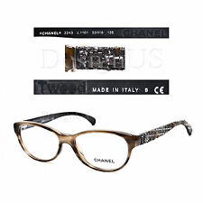 CHANEL 3243 c.1101 Tweed Eyeglasses 52/16/135 Rx Made in Italy - Authentic New