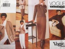Vogue Sewing Pattern 2030 Misses Vest Jacket Pant Skirt Dress Size 14-18 Uncut