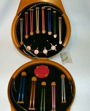 13 Boye Knitting Needle Sizes Circular Set Interchangeable Hard Plastic Case