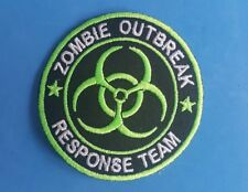 NOVELTY FANCY DRESS SEW ON / IRON ON PATCH:- ZOMBIE OUTBREAK RESPONSE TEAM (a)