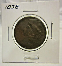 1838 U.S. Large Cent Coin Matron head Modified