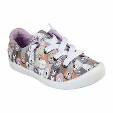 Skechers Bobs Beach Bingo Little Kids Girls Lace up Sneakers Size 4 Medium
