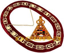 Masonic ROYAL ARCH COLLAR + PHP PENDANT