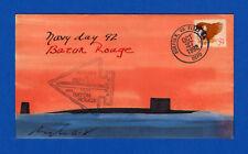 USS Baton Rouge SSN-689 Navy Day October 27, 1992 - Rogak Cachet