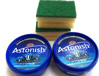 Astonish Oven & Cookware Cleaner | 2 x 8.4 oz With 2 Scrubbers | As Seen on TV