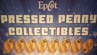 Disney Pixar's Inside Out Epcot Mouse Gears - Complete Set Eight Pressed Pennies
