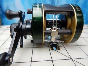 Vintage Fishing Reel ABU GARCIA Ambassadeur V-5000 green bait casting tackle