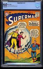 Superman #121 CBCS FN 6.0 Off White to White