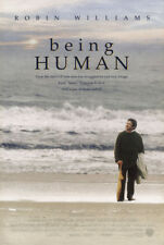 BEING HUMAN MOVIE POSTER 1 Sided ORIGINAL ROLLED 27x40 ROBIN WILLIAMS