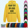 Custom Personalised Baby/Kids/Childrens HOODIE Name Funny Gift- Your text/logo 4