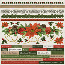 Holiday Paper Scrapbooking Stickers