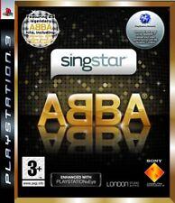 SingStar ABBA (Sony PlayStation 3, 2008) - European Version