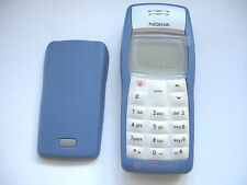 NOKIA 1100 MADE IN HUNGARY (NEW CASING) , BLUE, & MAINS PLUG