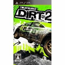 Used PSP Dirt 2 SONY PLAYSTATION JAPAN IMPORT