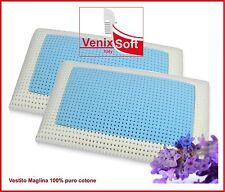 Deux(2) Oreillers VENIXSOFT à mémoire de forme Coussins détente lavande