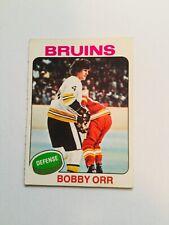 Bobby Orr opc high grade hockey card 1974-75