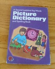 Vintage Ladybird book. Picture Dictionary and spelling book