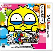 NINTENDO 3DS konami  100% Pascal Sensei: Kanpeki Paint Bombers  JAPANESE VERSION