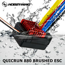 Hobbywing QUICRUN WP 880 Dual Brushed ESC 2-4S For RC 1:8 1:10 Car Vehicles