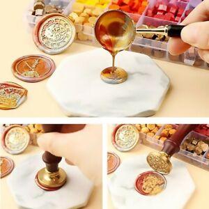 100pcs Tablet Set Tool Stamp DIY Octagonal Spoon Sealing Wax Without Box