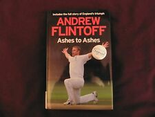ANDREW FLINTOFF - Ashes To Ashes SIGNED - 2009 - *BRAND NEW*