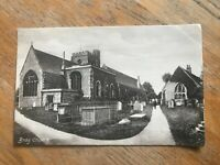 Vintage postcard Bray Church, near Maidenhead, Berks. Unposted