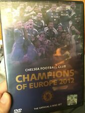 Chelsea Football Club - Champions Of Europe 2012 DVD (soccer) 2 discs
