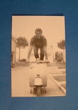 LAMBRETTA VESPA POST CARD JACQUES SERNAS ITALIAN CARD 15 YEARS OLD