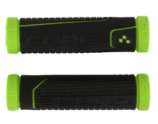 Cube Performance Grips Handlebar Green / Black Kraton Rubber