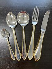 GULF AIR FIRST CLASS 5pc CUTLERY SET