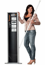 Light Tower -  Comes in Padded Bag with Zipper, Ideal for Exhibitions, Showrooms